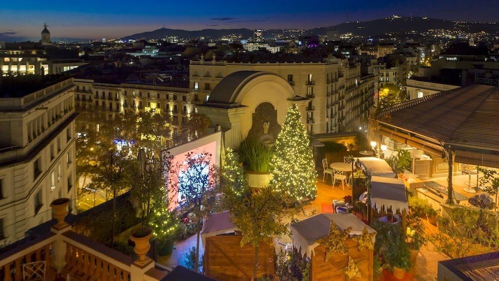 La Navidad toma el Palace Barcelona.
