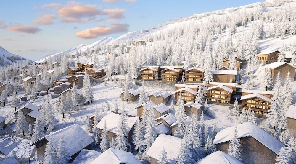 En 2026 habrá un nuevo Ritz Carlton en Zermatt, en el corazón de los Alpes Suizos.