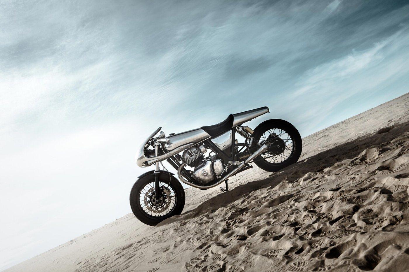 Así es The Jaeger, la nueva motocicleta de Bandit9 Motorcycles.