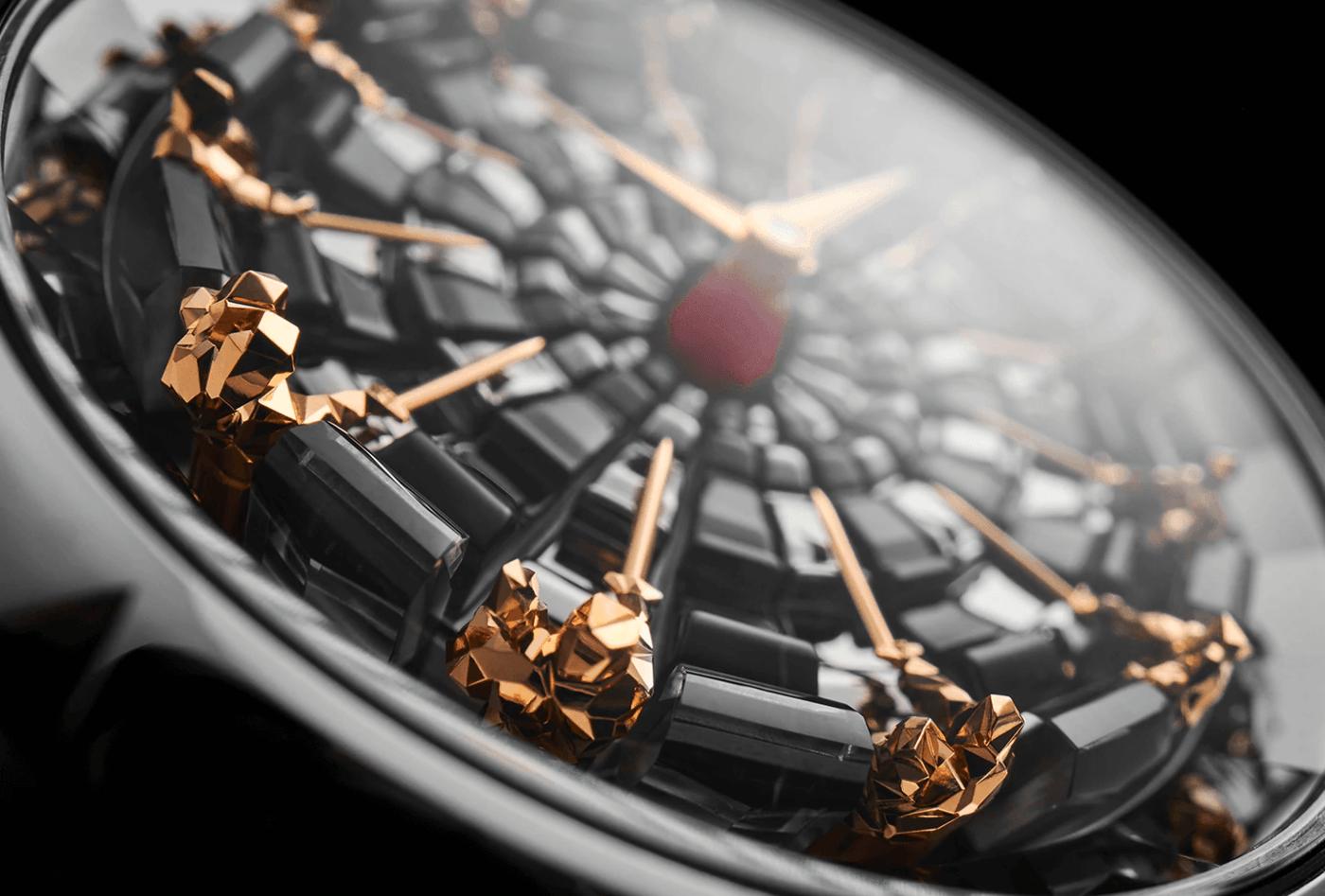 Los caballeros de la mesa redonda se cuelan de nuevo en un reloj Roger Dubuis.