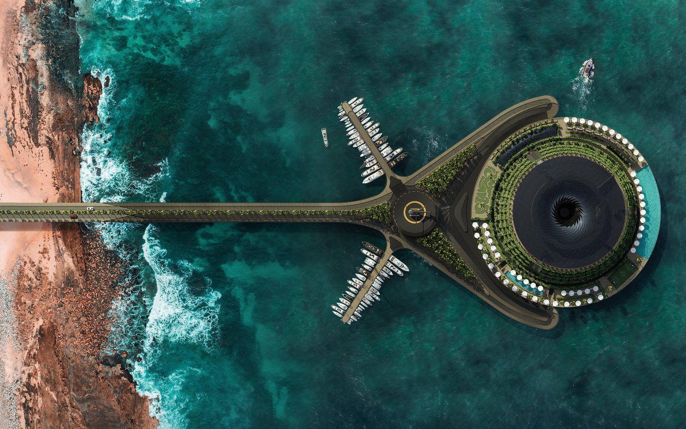 Qatar estrenará el hotel más ecológico y vanguardista del mundo en el año 2025.
