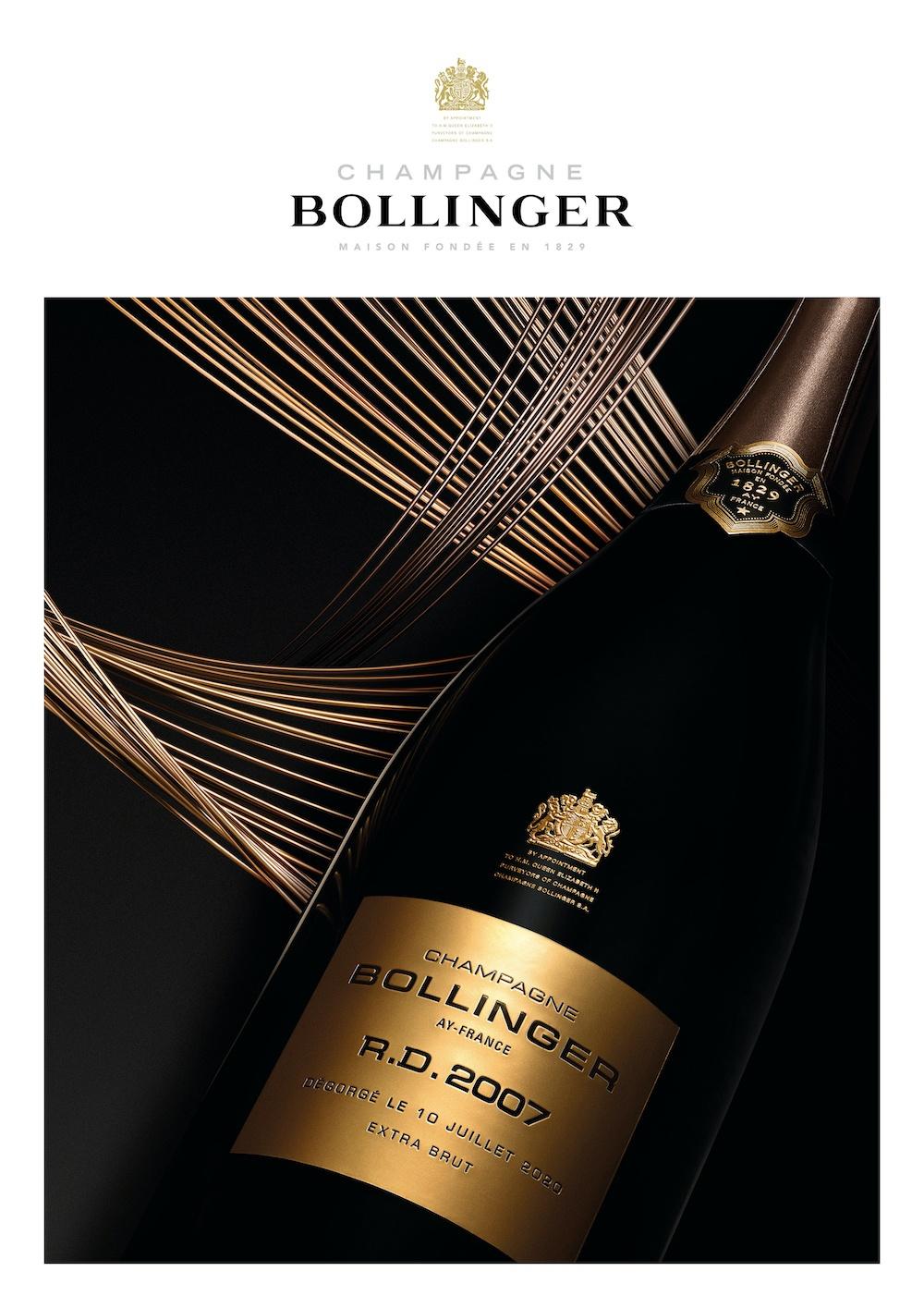 R.D. 2007, el champagne Bollinger más audaz.