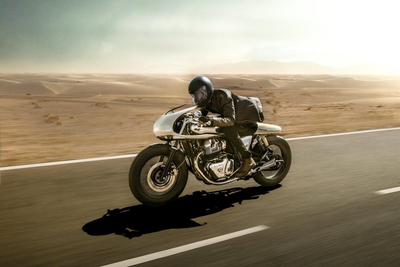 Así rueda The Jaeger, lo último de Bandit9 Motorcycles y Royal Enfield.